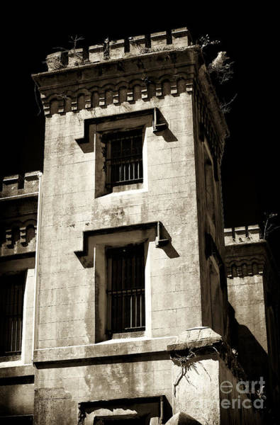 Photograph - Old Charleston Jail by John Rizzuto