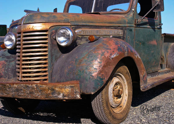 Photograph - Old Chevy by Ann Ranlett