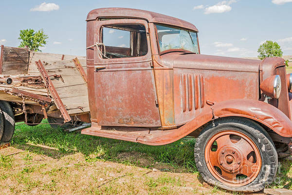 Photograph - Old Chevy Truck by Sue Smith