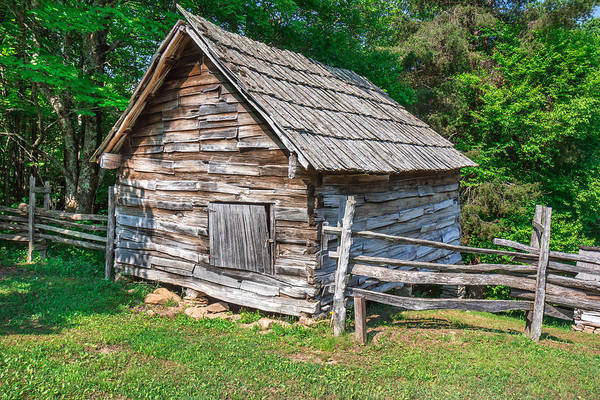 Photograph - Old Chicken Coop by Mary Almond