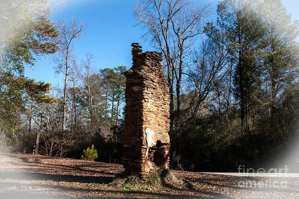 Wall Art - Digital Art - Old Chimney Still Standing by Jinx Farmer
