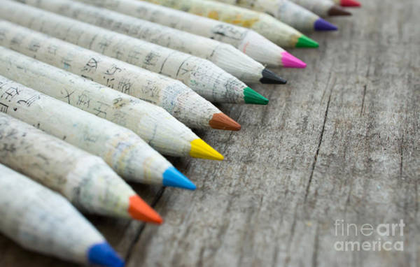 Pencil Drawing Photograph - Old Chinese Pencil by Aged Pixel