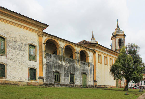 Minas Gerais Wall Art - Photograph - Old Church by Antonello
