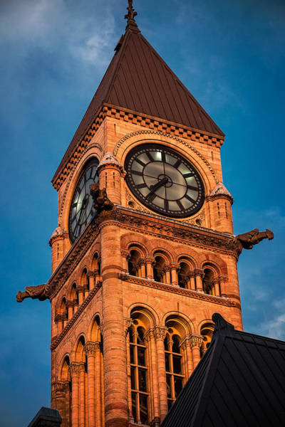 Photograph - Old City Hall Tower - Diamond View by Levin Rodriguez