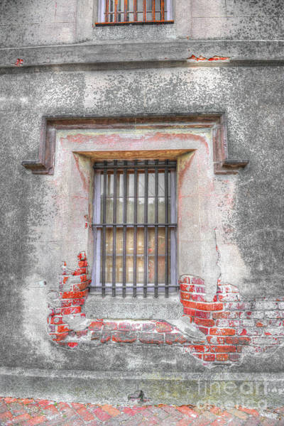 Photograph - The Old City Jail Window Chs by Dale Powell