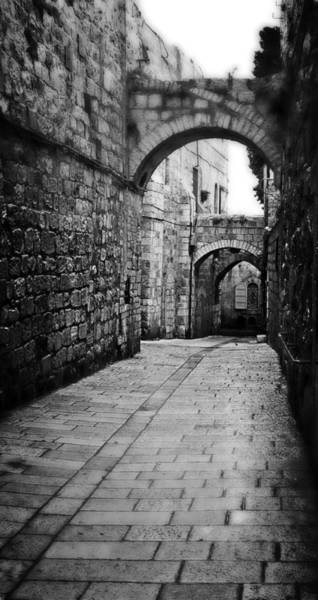 Photograph - Old Street In Israel by Doc Braham