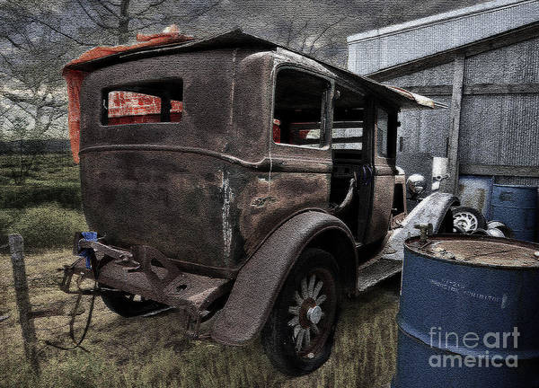Liane Photograph - Old Classic Car by Liane Wright