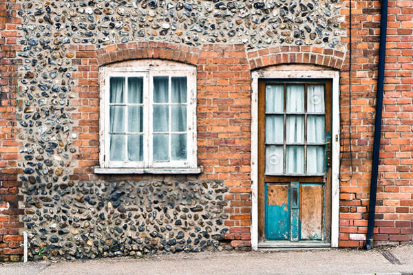 Window Photograph - Old Cottage by Tom Gowanlock