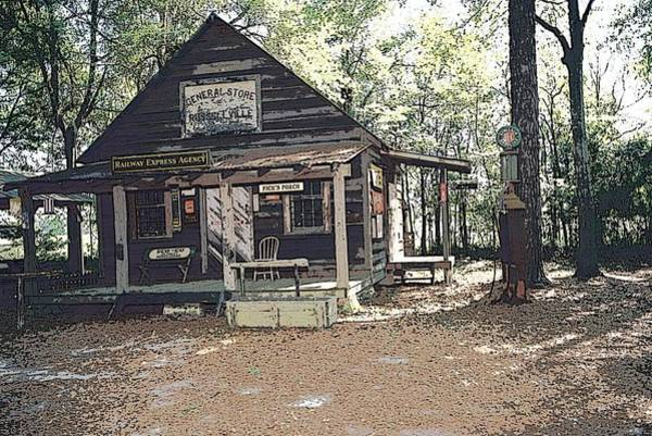 Digital Art - Old Country Store by Donald Williams