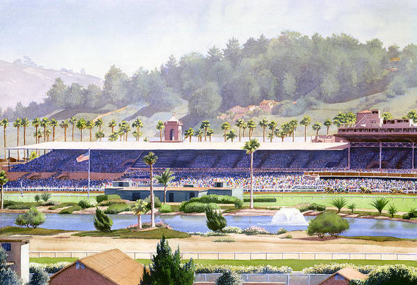 Old Del Mar Race Track Art Print