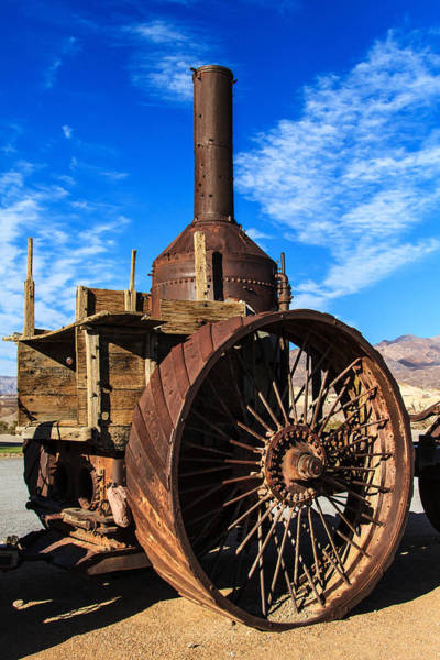 Furnace Creek Photograph - Old Dinah by James Marvin Phelps