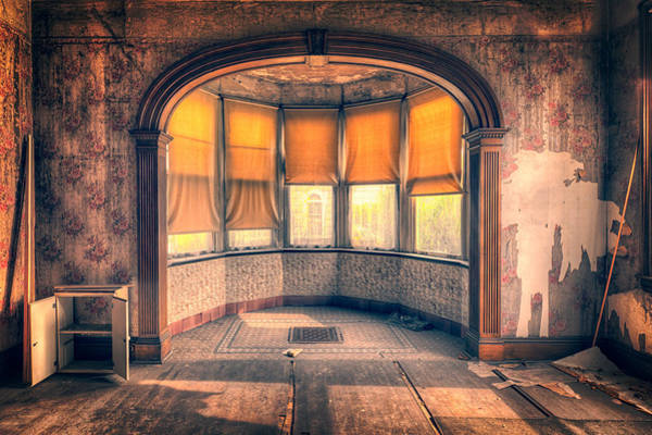 Photograph - Old Dining Room  by Emmanuel Panagiotakis