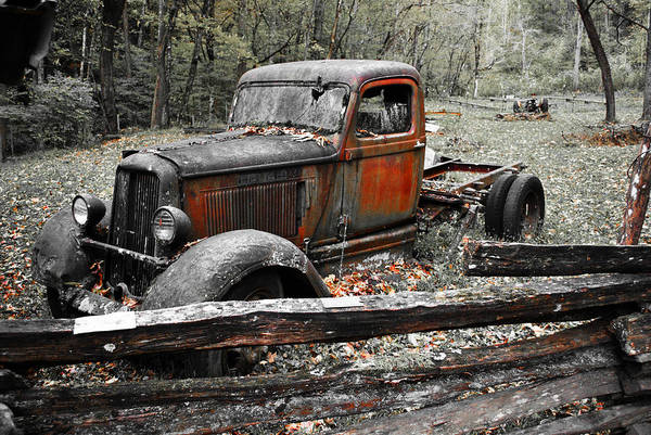 Photograph - Old Dodge Truck by Bill Hosford