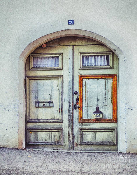 Photograph - Old Door by Jutta Maria Pusl