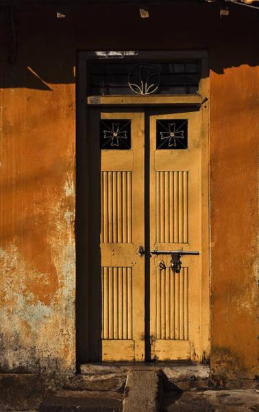 Photograph - Old Door by Maria Heyens