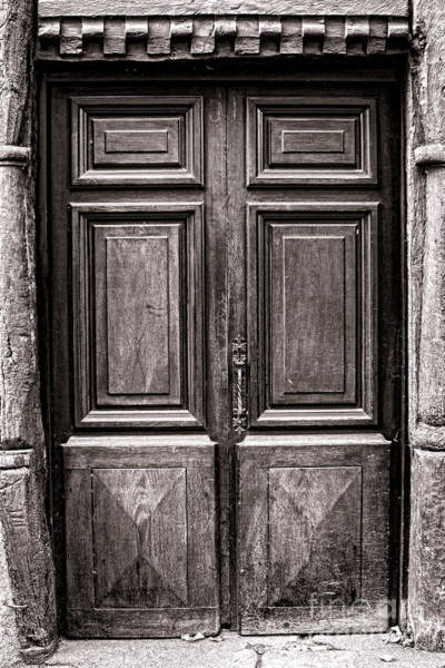 Entry Photograph - Old Door by Olivier Le Queinec