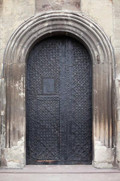 Hinges Photograph - Old Door by Viktor gladkov
