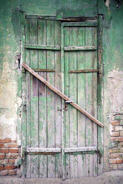 Plaster Photograph - Old Door by Wylius