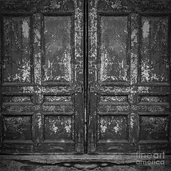 Photograph - Old Doors by Edward Fielding