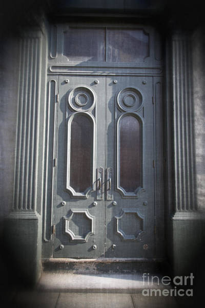 Photograph - Old Doorway Quebec City by Edward Fielding
