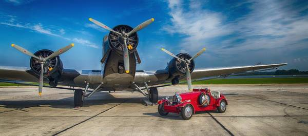 Ju 52 Wall Art - Photograph - Old Double by Thomas Christoph