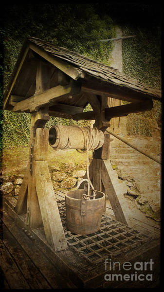 Photograph - Old Draw Well by Heiko Koehrer-Wagner
