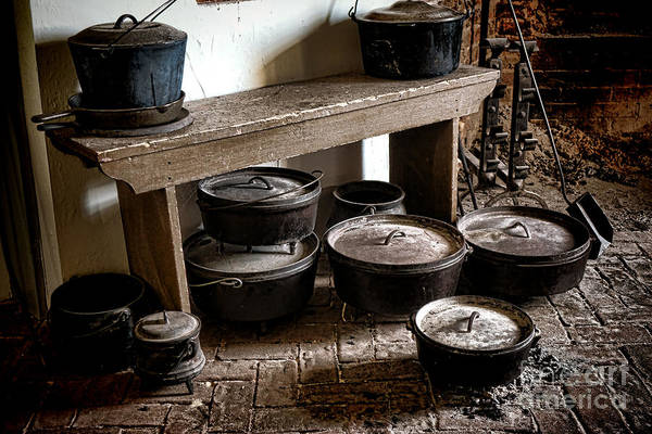 Photograph - Old Dream Kitchen by Olivier Le Queinec
