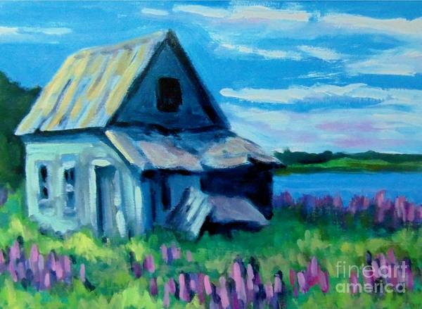 Prince Edward Island Painting - Old Farm House by John Malone