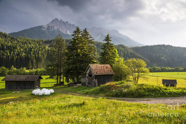 Wall Art - Photograph - Old Farm In The Austrian Countryside by Yuri San