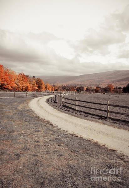 Manchester Photograph - Old Farm Lane by Edward Fielding