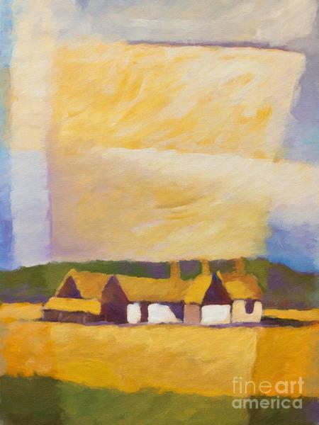 Painting - Old Farm by Lutz Baar