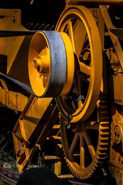 Photograph - Old Farm Machine by Edgar Laureano