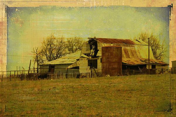 Farmstead Photograph - Old Farmstead 2  by Toni Hopper