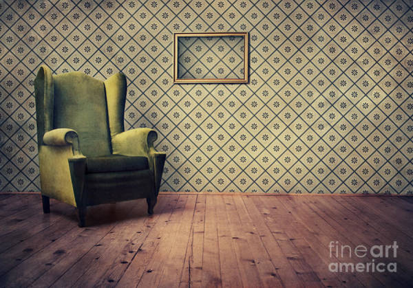 Wall Art - Digital Art - Old Fashioned Armchair by Jelena Jovanovic