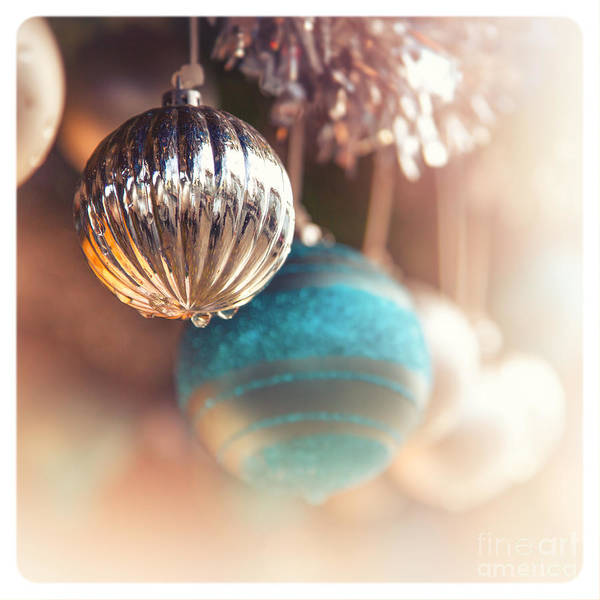 Process Photograph - Old-fashioned Christmas Decorations by Jane Rix