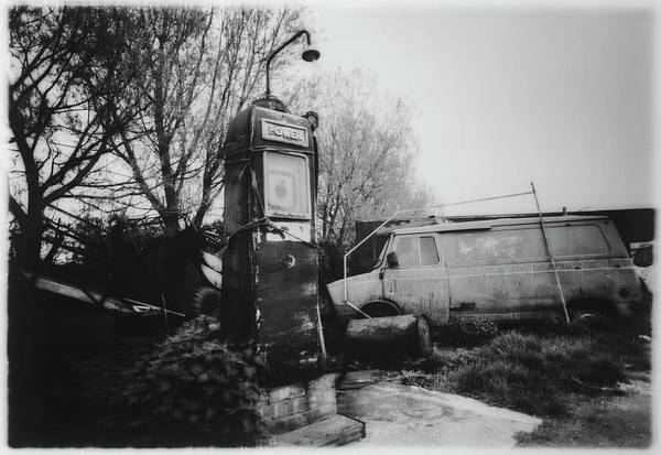 Energy Crisis Photograph - Old Fashioned Fuel Pump by Ton Kinsbergen/science Photo Library