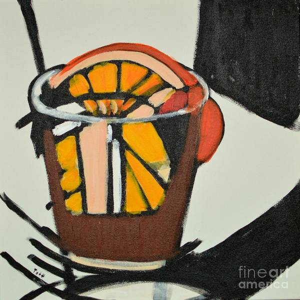 Painting - Old Fashioned by Laura Toth