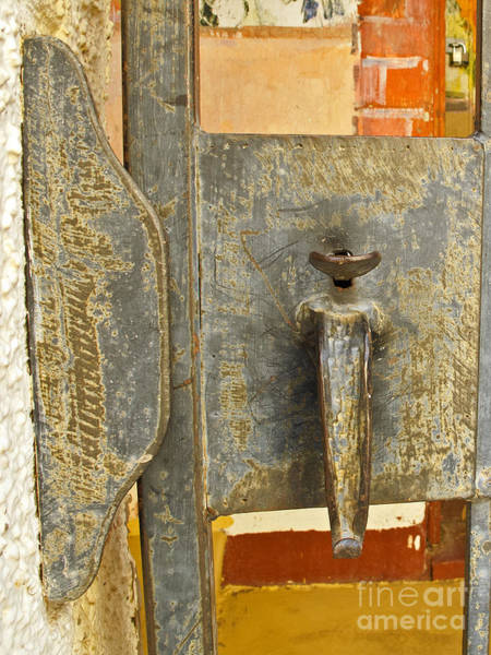 Photograph - Old Fashioned Lock by Kelly Holm