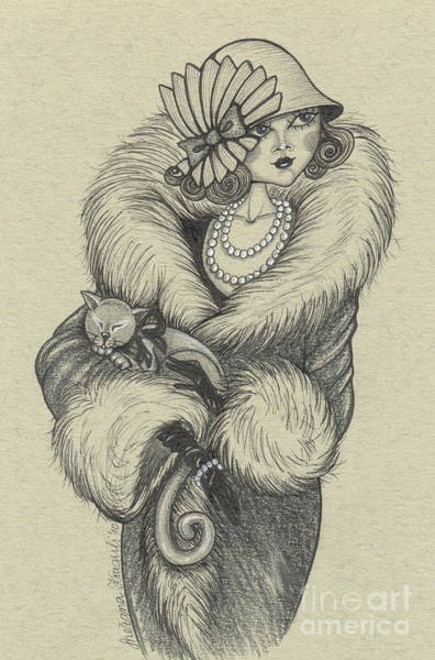 Coco Drawing - Old-fashioned by Snezana Kragulj