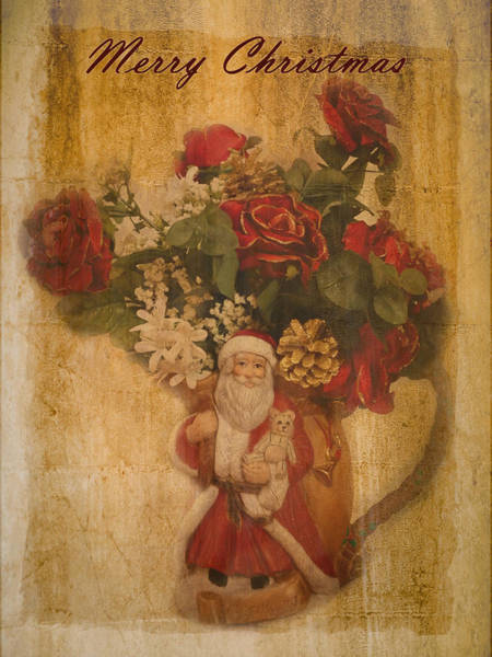 Photograph - Old Fashioned St Nick by Lucinda Walter