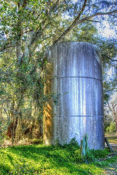 Old Fertilizer Tank Art Print