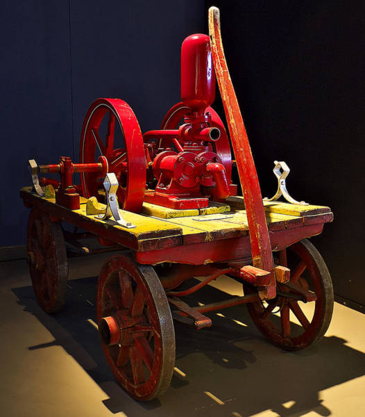 Photograph - Old Fire Pump by Ivan Slosar