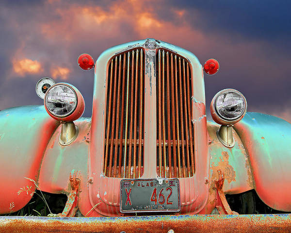 Firetruck Photograph - Old Firefighter by Ron Day