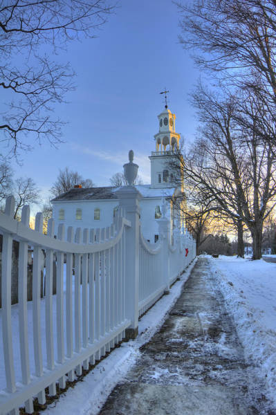 Photograph - Old First Church - Bennington Vermont by Joann Vitali