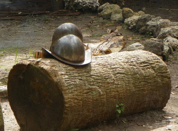 Pedro Menendez Photograph - Old Florida Helmet by Patty Weeks