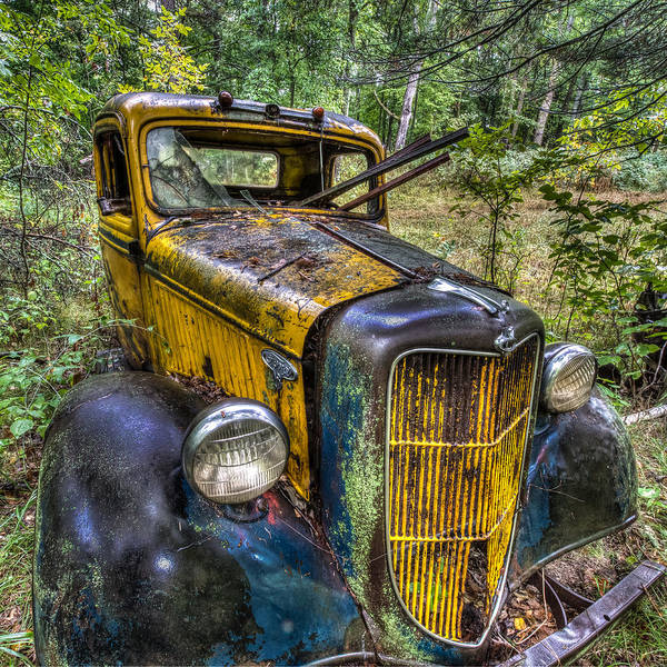 Pickup Man Photograph - Old Ford by Paul Freidlund