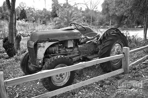 Photograph - Old Ford Tractor by Bridgette Gomes