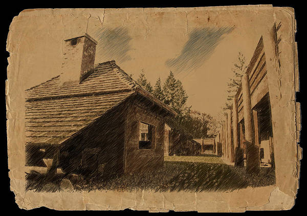 Photograph - Old Fort Langley 2 by Doug Matthews