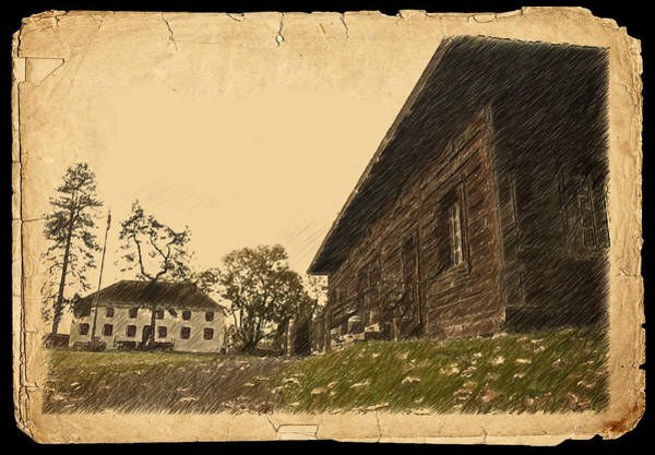 Photograph - Old Fort Langley 3 by Doug Matthews