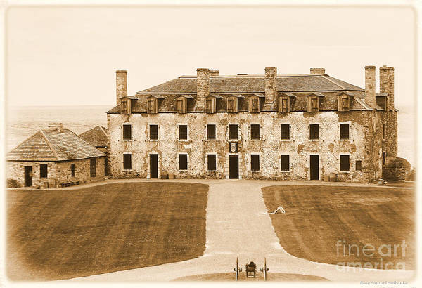 Photograph - Old Fort Niagara French Castle And Bake House 2 by Rose Santuci-Sofranko